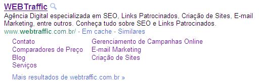 webtraffic - Pesquisa Google